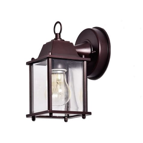 truelite vintage style outdoor wall sconce 1 light
