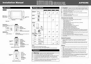Aiphone Jk Series Wiring Diagram