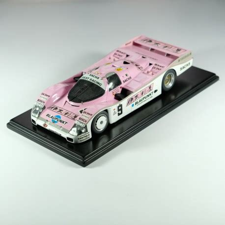 Check out our porsche model kit selection for the very best in unique or custom, handmade pieces from our building & construction shops. 1:24 Porsche 962 C Joest Le mans 1989 model kit car Profil 24