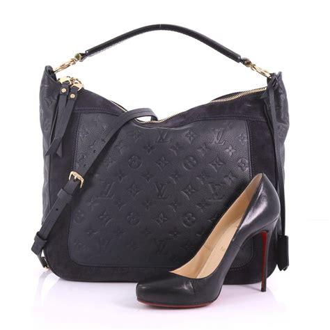 louis vuitton audacieuse handbag monogram empreinte leather mm  stdibs