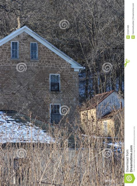 house winter midwest stock photo image 51241480