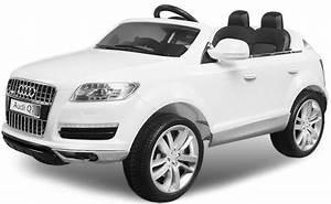 Voiture Electrique Enfant : voiture lectrique enfant audi q7 blanc ~ Nature-et-papiers.com Idées de Décoration