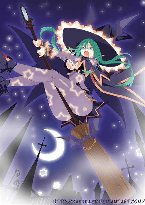 More Anime Like Date A Live Date A Live Natsumi Witch By Kaiikiller On Deviantart