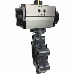4 U2033 Air Actuated Pvc Butterfly Valve