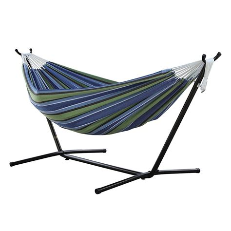 Vivere Hammocks by Vivere Hammock With Space Saving Steel Stand In