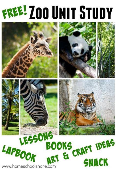 zoo unit study  lapbook  images zoo activities