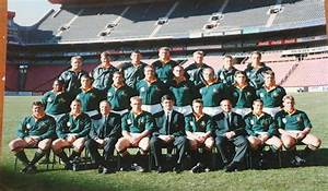 Rugby - 1995 Rugby World Cup - Large Springbok team photo ...