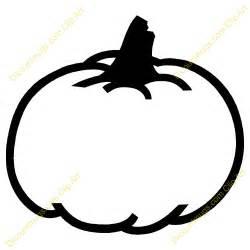 Pumpkin Outline Clip Art