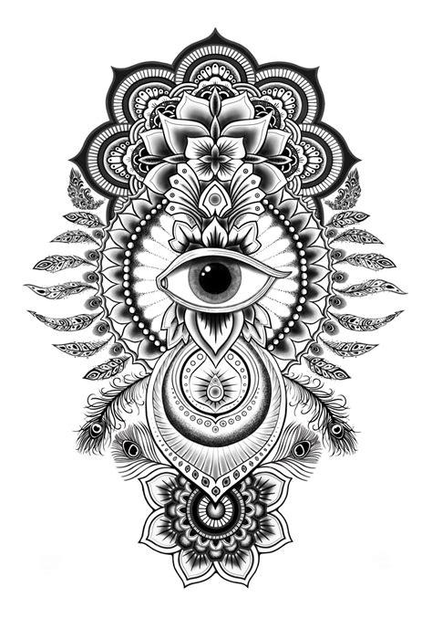 Amberwing Art | Custom Tattoo Design Portfolio | tatted up | Tattoos, Hamsa tattoo, Tribal tattoos