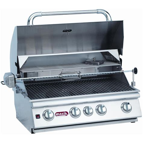 cost of built in grill deals bull angus 4 burner built in propane gas grill sales prices price llblankll