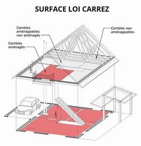 Surface Habitable Calcul : surface carrez joris p ri architecte albi tarn 81 ~ Premium-room.com Idées de Décoration