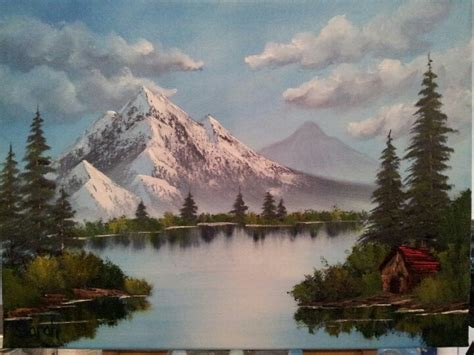 Bob Ross Style Paintings