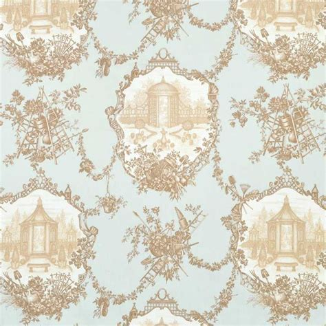 Braemore Garden Toile Aqua Fabric   Wallpaper   Pinterest