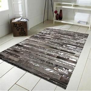 tapis argente pas cher 160x230cm gris argent With tapis gris argenté pas cher