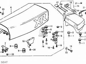 honda xr200 1980 a usa parts list partsmanual partsfiche With 1980 honda cr v