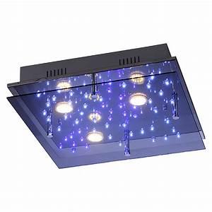 Led Deckenleuchte Bauhaus : leuchtendirekt led deckenleuchte nightsky 2 12 w 45 x 45 cm energieeffizienzklasse a bauhaus ~ Buech-reservation.com Haus und Dekorationen