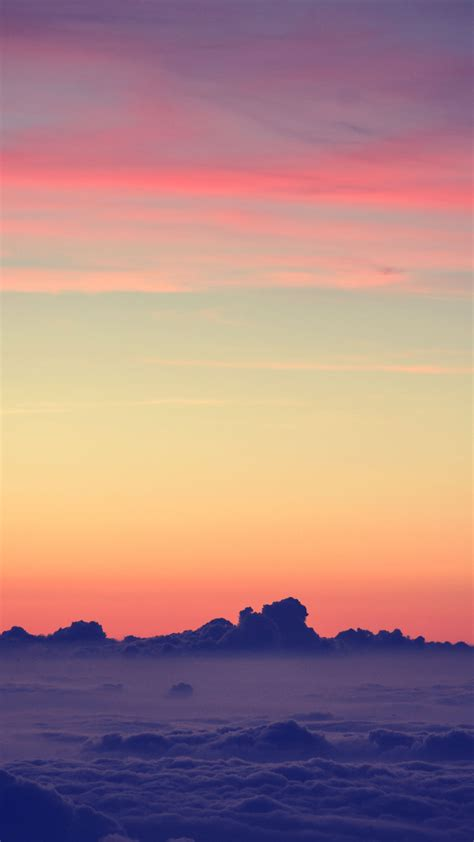 Choose the wallpaper you like, change it as you wish to customize your phone to make it look so. Sky Above Clouds iPhone Wallpaper | iDrop News