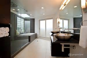 master bathroom shower tile ideas contemporary master bathroom with frameless vessel sink