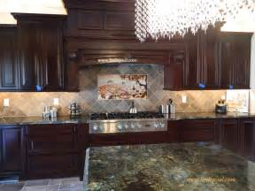 photos of kitchen backsplashes the vineyard tile murals tuscan wine tiles kitchen backsplashes
