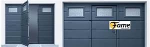 pose de portes de garages a rennes et ille et vilaine With porte de garage fame