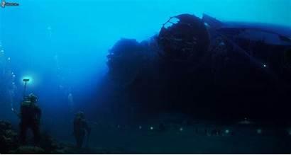 Sea Fear Underwater Deep Diver Thalassophobia Shipwreck