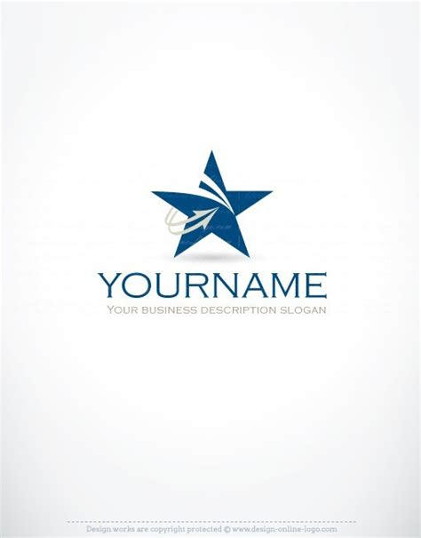 exclusive design innovative star logo  business card