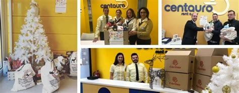 charitable food collection  centauro rent  car
