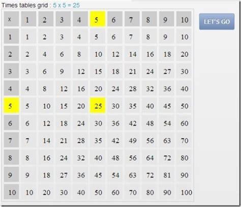 practice multiplication tables online free number names worksheets table test practice free