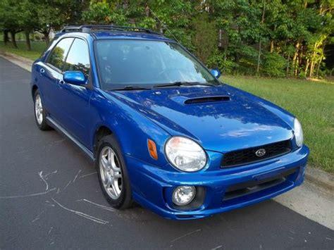 Sell Used 2002 Subaru Impreza Wrx Wagon 4-door 2.0l In