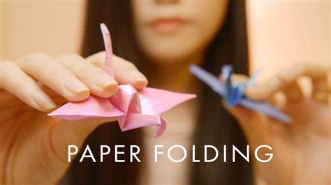 asmr close  paper sounds folding scratching rubbing