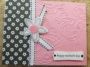 Handmade Mothers MOTHER'S DAY Card EMBOSSED Using Stampin ...