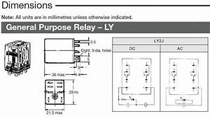 Omron Power Relay Ly2 Soldadura