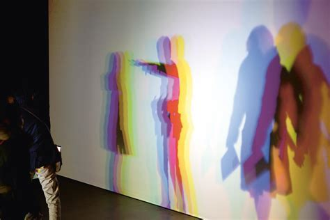 Slow motion shadow in  ? Artwork ? Studio Olafur Eliasson