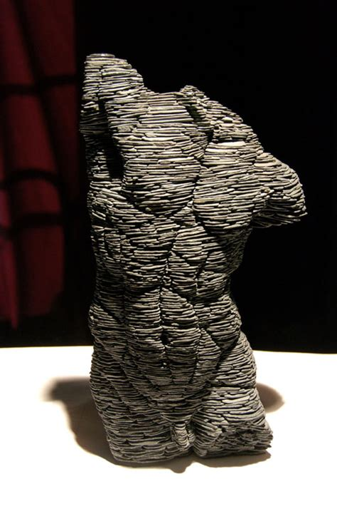 stacked sculpture man stephen kettle