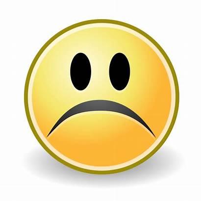 Sad Svg Smile Bad Face Person Clipart