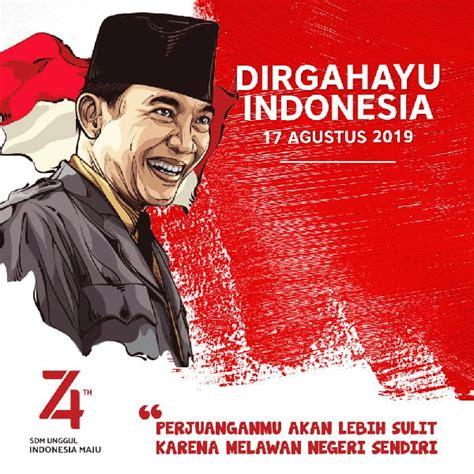 kumpulan gambar ucapan hari kemerdekaan indonesia    agustus  aldhinya web