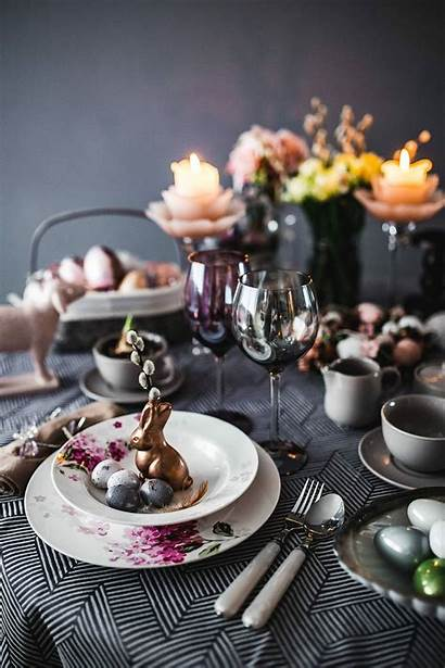 Easter Table Dinner Decoration Wallpapers