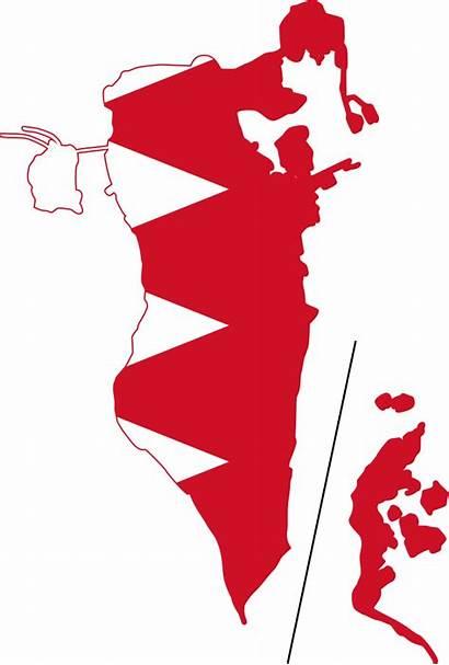 Bahrain Svg Flag Map Clipart Wikipedia Pluspng