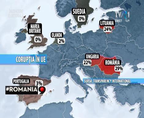 Romania ocupa locul 73, cea mai corupta tara din lume | ThePOC