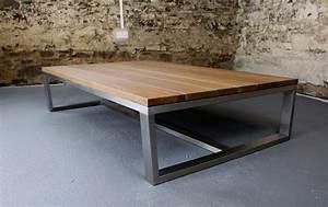 industrial style coffee table peenmediacom With industrial look coffee table