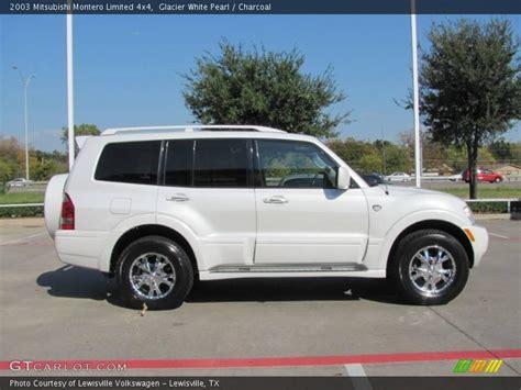Mitsubishi Montero Limited 2003 by 2003 Mitsubishi Montero Limited 4x4 In Glacier White Pearl