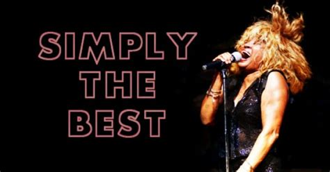 Tina Turner Simply The Best by Simplythebest Musiczirconia