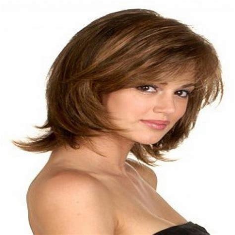 haircut  thick hair  face wavy haircut