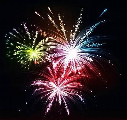 Fireworks Feu Feux Artifice Cartoon Clipart Festival