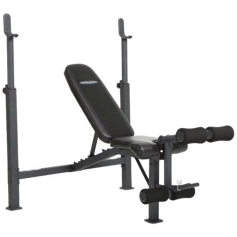 Steel Frame Weight Bench With Adjustable Height Bar Chest