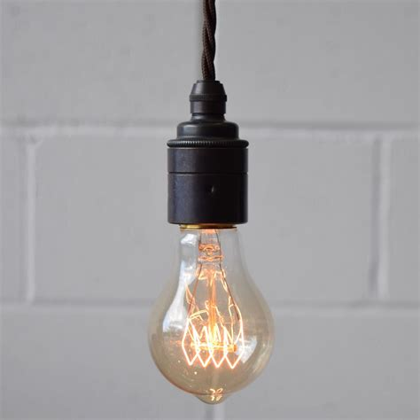 vintage industrial filament light bulbs squirrel cage