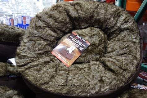costco kirkland signature pet nest bed with pillow 29 99