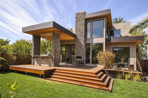 Modern Houses : Square Cheap Modern Home Plans