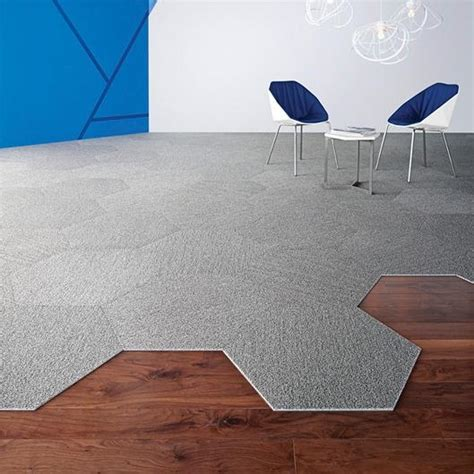shaw contract hexagon carpet