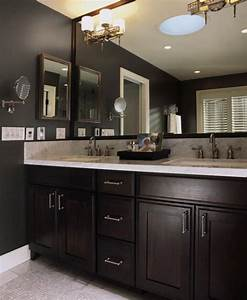 1000 ideas about black cabinets bathroom on pinterest for What kind of paint to use on kitchen cabinets for ten commandments wall art